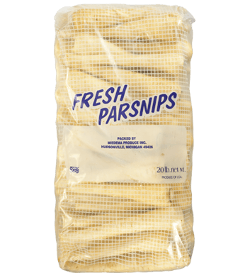 parsnips in a bag